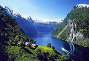 Норвегия. Северный ветер